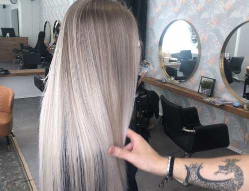 Natürliches Blond Balayage