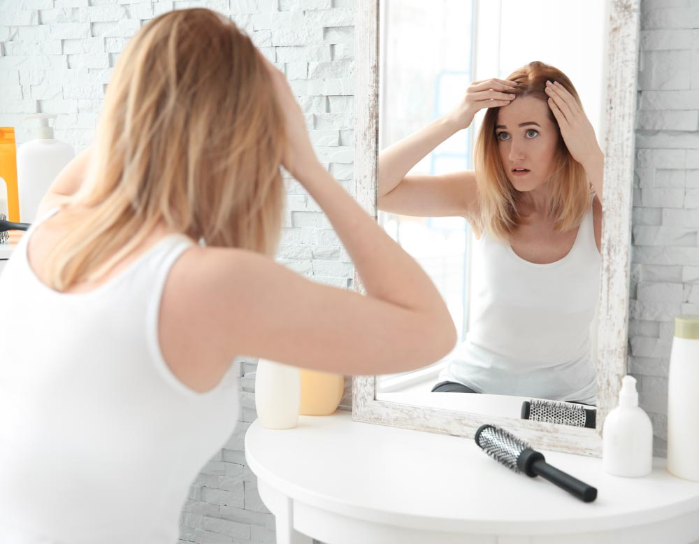 Biotina perdita di capelli
