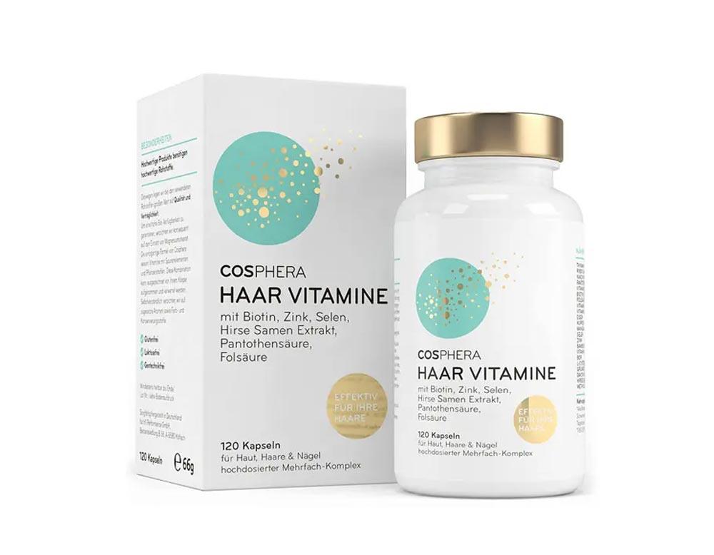 Cosphera-haar-Vitamine