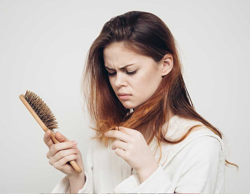 Haarausfall-Stress
