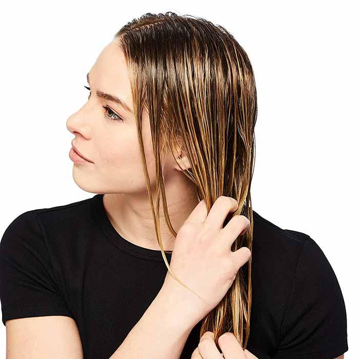 Haarmaske-Test