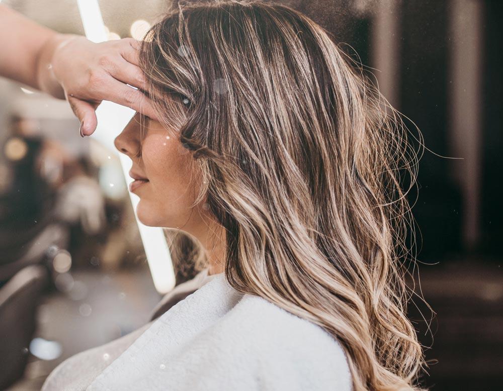 Hitzeschutz-Haare